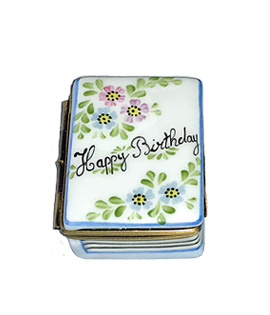 Limoges box happy birthday book