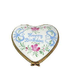 Limoges box birthday heart