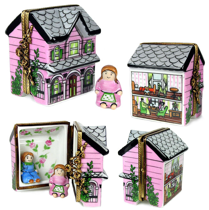 rochard dollhouse limoges box