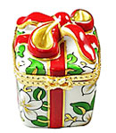 limoges box Christmas gift with wrap
