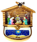 Rochard nativity scene limoges box