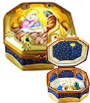 octagon nativity limoges box