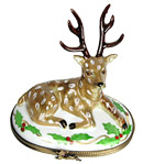 Limoges box Rochard Christmas reindeer