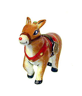 Rudolph the red nosed reindeer Limoges box