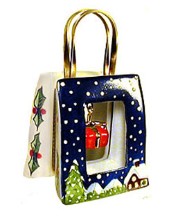 Limoges box Holiday Shopping bag with gift