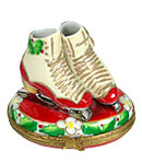 Limoges box Rochard holiday ice skates