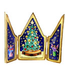 limoges box tryptich with Christmas tree
