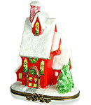 victorian christmas house limoges box
