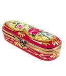red roses Limoges needle box