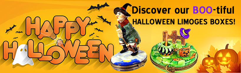 Halloween Limoges boxes page banner