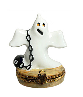 Artoria ghost with chain Limoges box