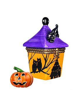 Halloween lantern with Jack o lantern
