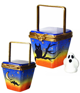Limoges box Halloween takeout