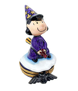 Peanuts Lucy Halloween Witch Limoges box