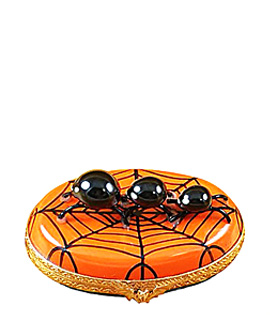 Rochard Limoges box Halloween spiders