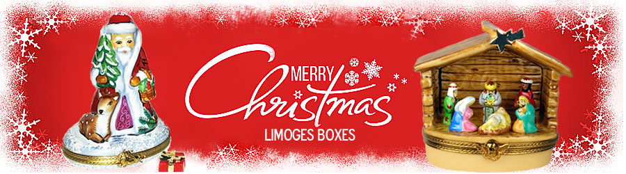 Christmas Limoges boxes banner