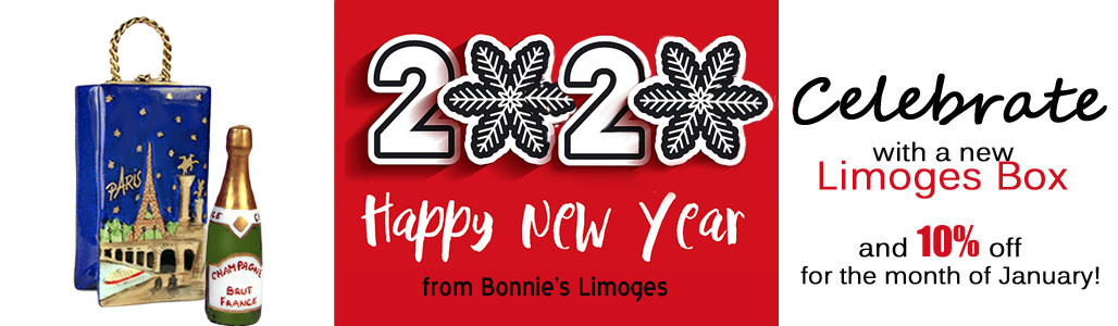 Limoges boxes new years banner