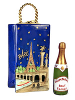 Paris champagne in bag Limoges box
