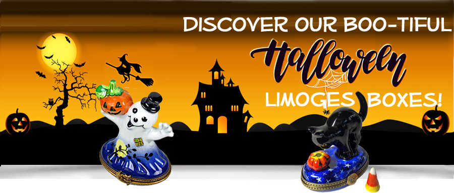 Halloween Limoges Boxes Banner