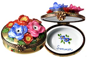 summer-flowers-limoges box from Chamart