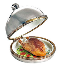 turkey cloche limoges box