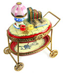 sewing cart limoges box