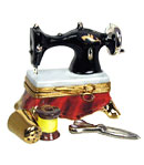 sewing machine limoges box