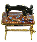 limoges box treadle sewing machine