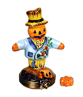 Chamart scarecrow Limoges box