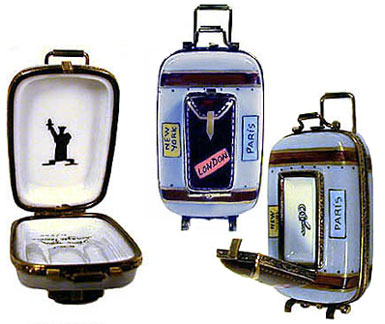 Luggage with stacks of shirts bl6760 190 00 luggage with 8 world