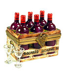 rochard limoges box wine crate